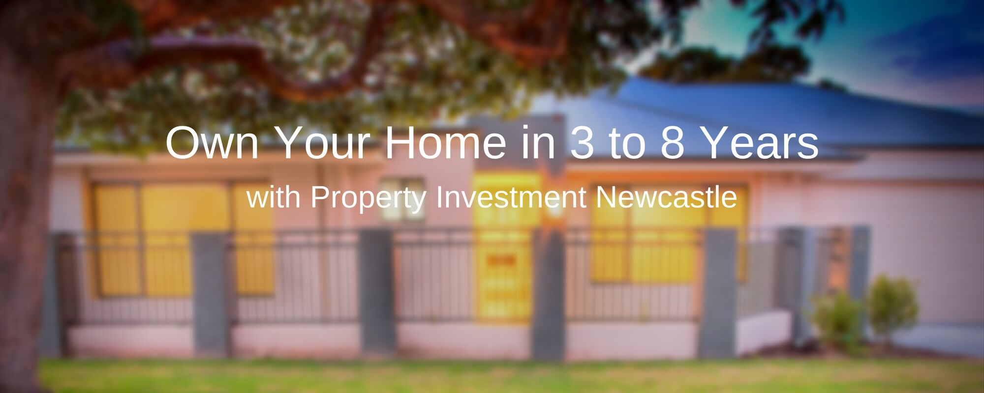 Property Investment Newcastle Banner 2